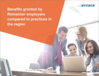 eBook | Benefits granted by Romanian employers compared to practices in the region