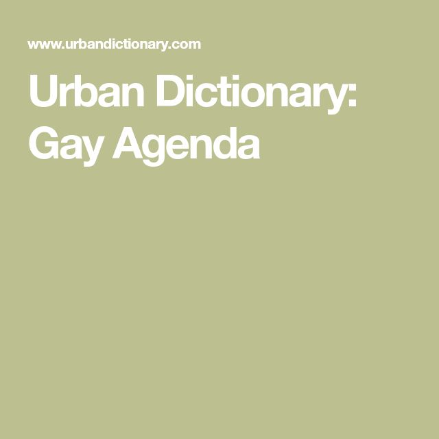 from Emmet urban dictionary gay