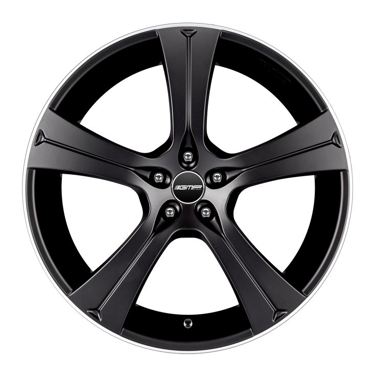 Buran Matt Black Alloy wheel / Cerchio in lega Buran Nero opaco Front