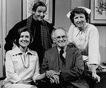 Mary Wickes the Nurse on sitcom Doc, 1975