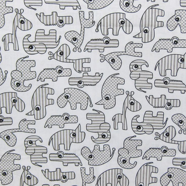 Baby Animals latest print available for pram liners