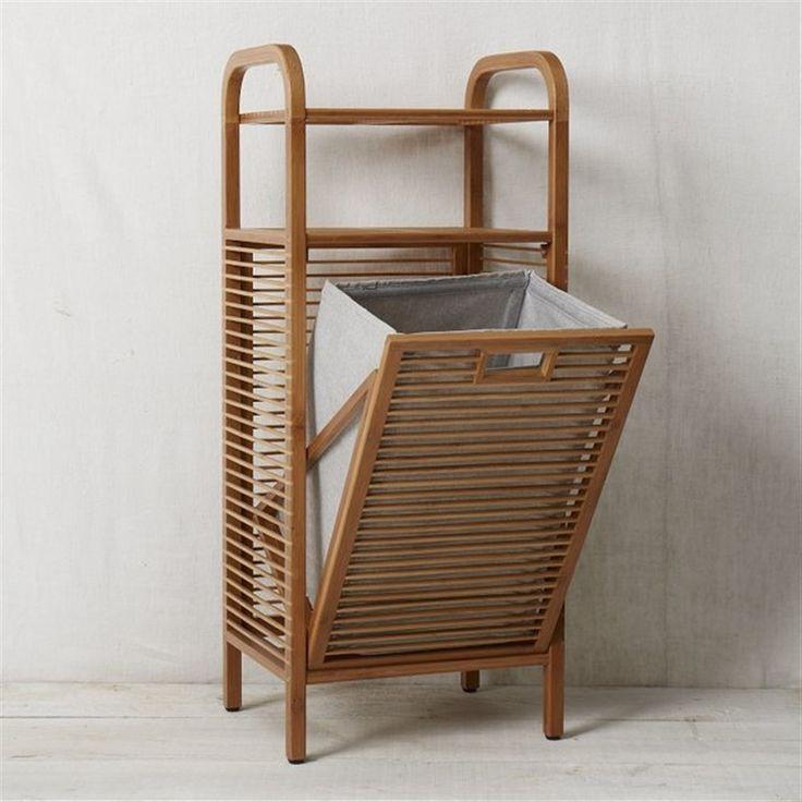 Корзина для белья 5108 (Бамбук) купить недорого с доставкой в интернет-магазине Уютный дом