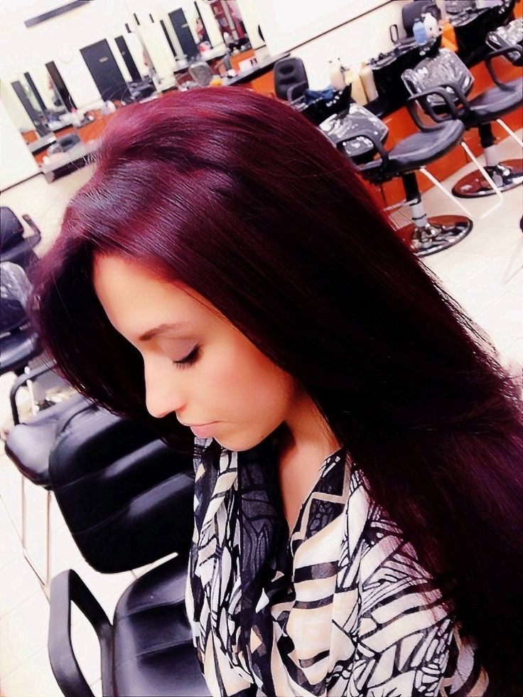 Ion Red Violet Hair Color Images