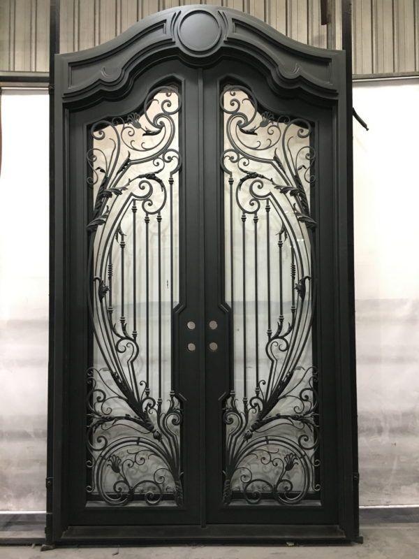 Wrought Iron Door El1336 Wrought Iron Doors Wrought Iron Entry
