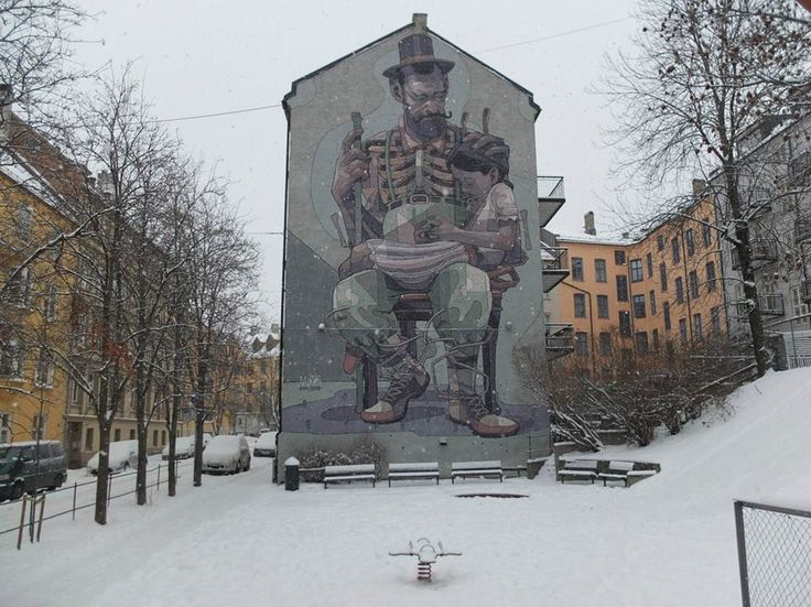 A Tour of Oslo's Fascinating Street Art