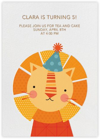 Petit Collage for Paperless Post Birthday Invitation