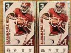 Two (2) Alabama vs. Ole Miss Lower Level Tide Pride Tickets