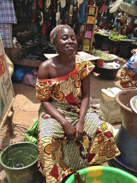 Market trader #Gambia: http://livesharetravel.com/12934/faces-of-gambia/ #Africa #portrait