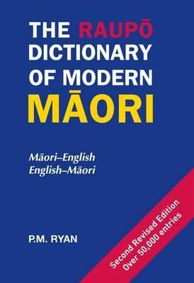 Contains all the words most commonly used by fluent Maori speakers including a vocabulary list with words for new inventions, metric items and modern concepts as well as scientific, computer, technological, medical and legal terms. Both Maori-English and English-Maori entries appear.