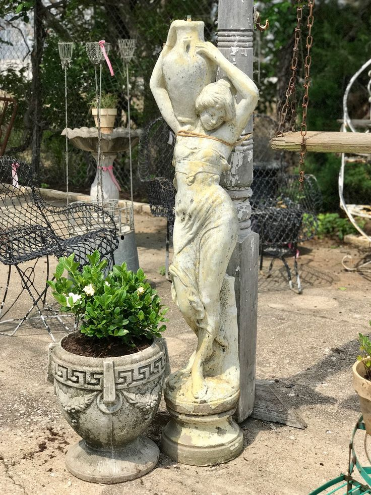79 best ANTIQUES - Garden Statuary images on Pinterest ...