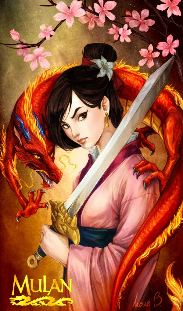 Mulan by AireensColor.deviantart.com on @DeviantArt
