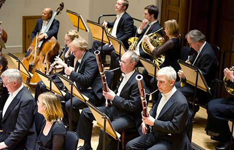 Exciting! Academy of St. Martin in the Fields orchestra are coming to the Samuel J. and Ethel LeFrak Concert Hall Sunday afternoon!