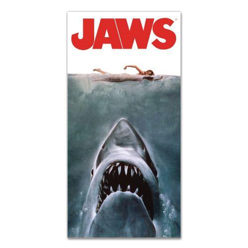 Jaws Movie Poster Beach Bath Towel