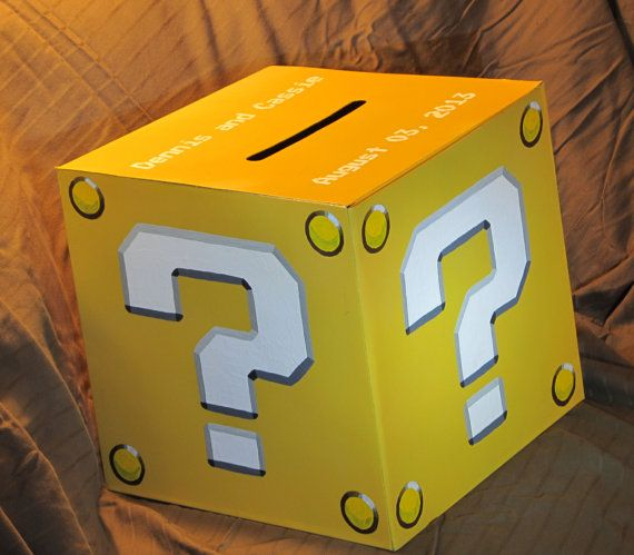 Image Result For Mario Mystery Box Cake