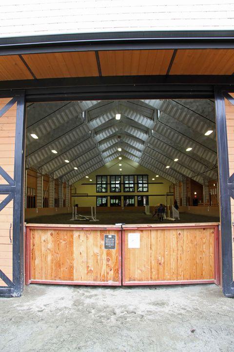 Indoor arena... this entry gate/doorway into arena