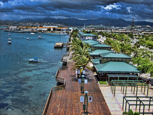 La Guancha (boardwalk) in Ponce Puerto Rico. I spent many a summer here with my fathers family.