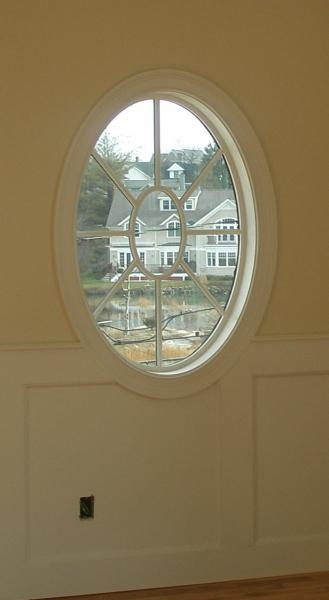 Round and Oval Window Trim