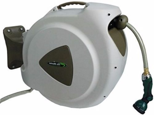 Hose Nozzles and Wands 181015: Retractable Hose Reel With 65 Foot Reinforced Hose And 8 Position Nozzle Garden -> BUY IT NOW ONLY: $99.77 on eBay!