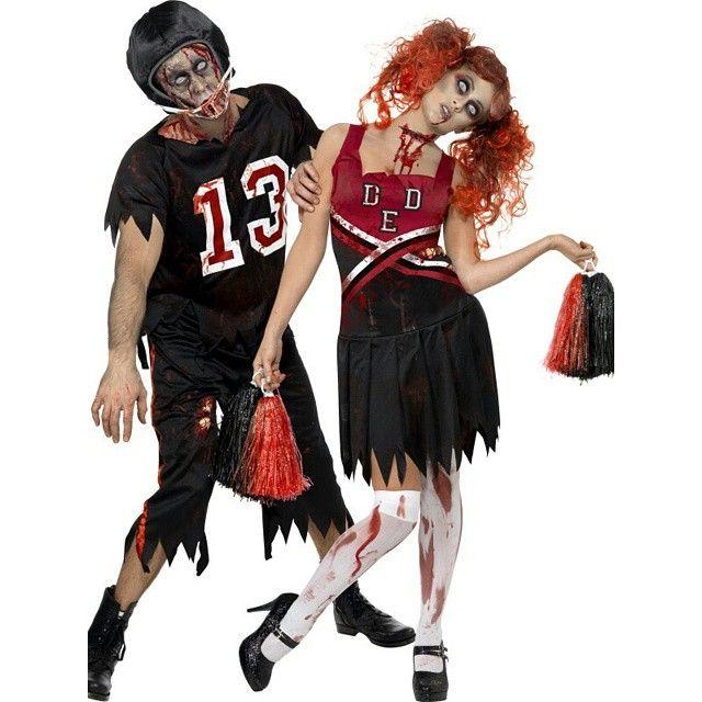 High School Horror Zombie Cheerleader Costume