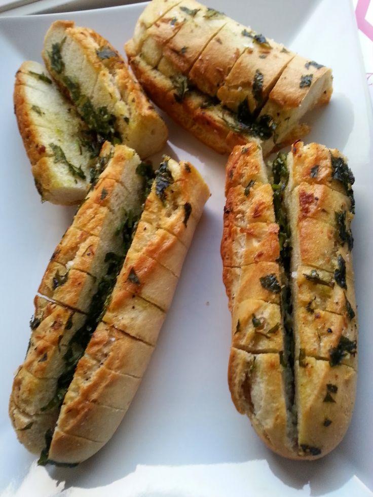 Veganeren: Deilige hvitløksbrød