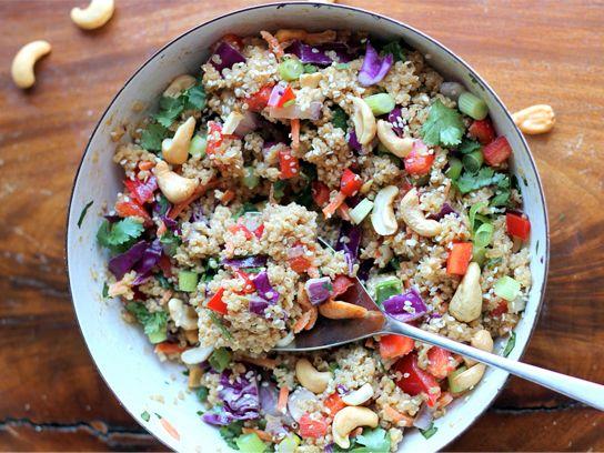 15 Creative Quinoa Recipes including salads, desserts, snacks, appetizers.