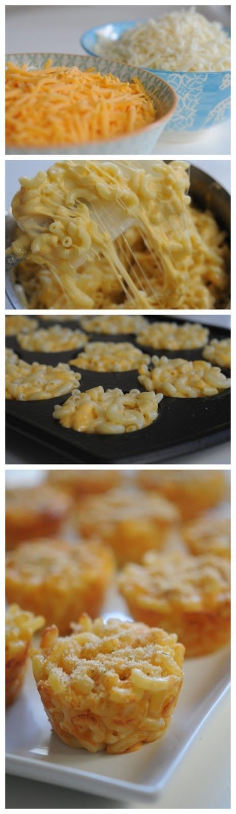 Mac & Cheese Cups - these are the BEST Muffin Tin Recipes for Kids!