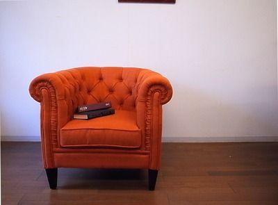 アンティーク家具 パインフラットのブログ:一人掛けソファチェア
