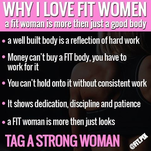 Why i love Strong Fit Women  - -