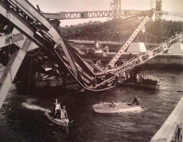 July 17, 1958, the Second Narrows Bridge collasped while under construction, killing 19 men. The bridge would not be completed for another two years.
