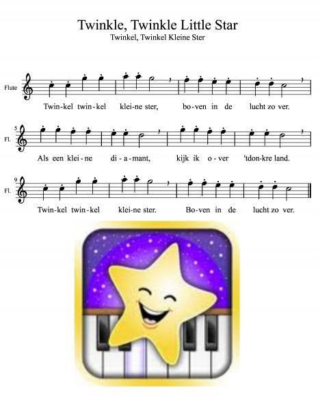 Twinkel kleine ster