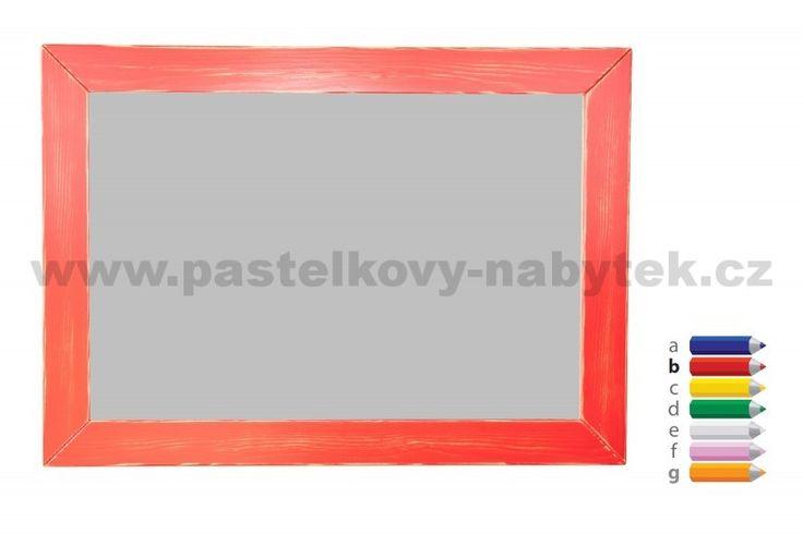 Dřevěné zrcadlo obdélník | Dětský dřevěný nábytek - BOB nábytek