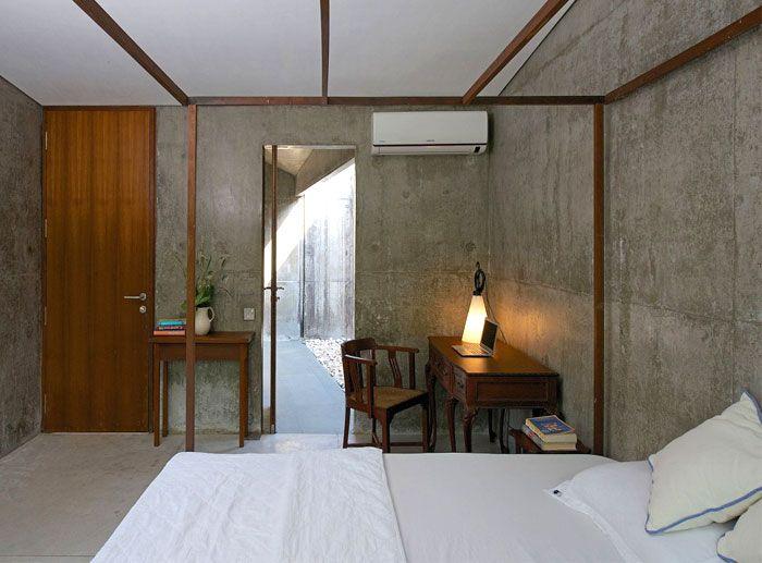 Concrete and wood interior google search concrete - Florida building code interior walls ...