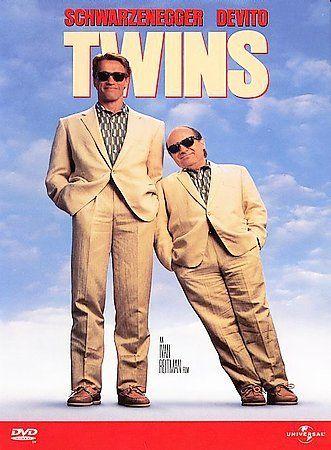 Twins, Very Good DVD, Arnold Schwarzenegger, Danny DeVito, Kelly Preston, Chloe