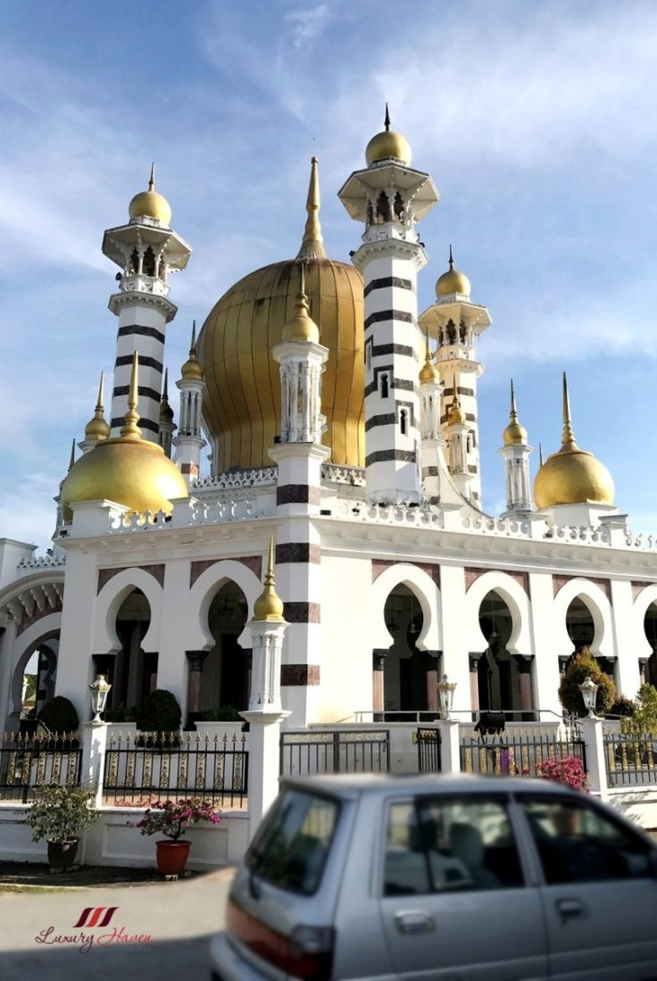 #Malaysia Tourism: 8 Must-Go Sightseeing Places in Ipoh City! #MasjidUbudiah #mosque