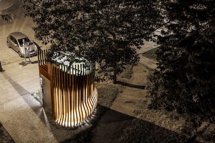 Best Puplic toilet, Gdansk Schleifer & Milczanowski Architekci  Location: Poland. #design #architecture #gdansk #ILoveGDN #Poland