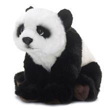 Animal Alley - WWF 6 inch Plush Stuffed Animal - Panda - English Edition