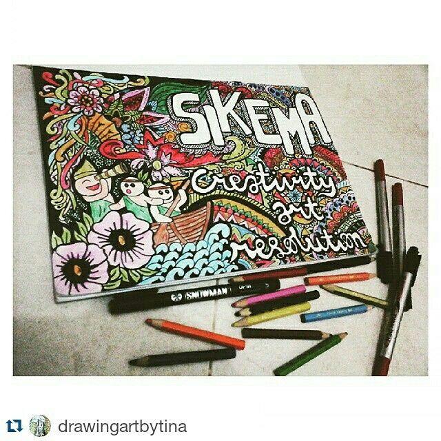 Snowman marker spidol drawing pen indonesia advertising