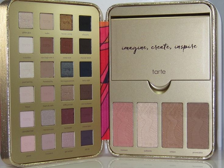 As you know I purchased the Tarte Pretty Paintbox Collector's Makeup Case ($59)…