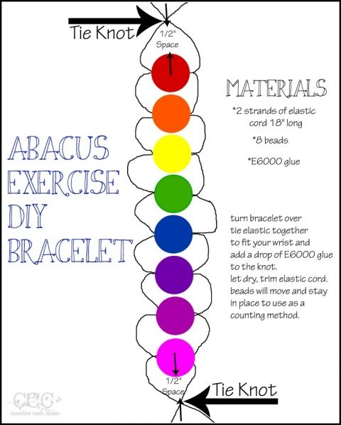 how to make an abacus kids