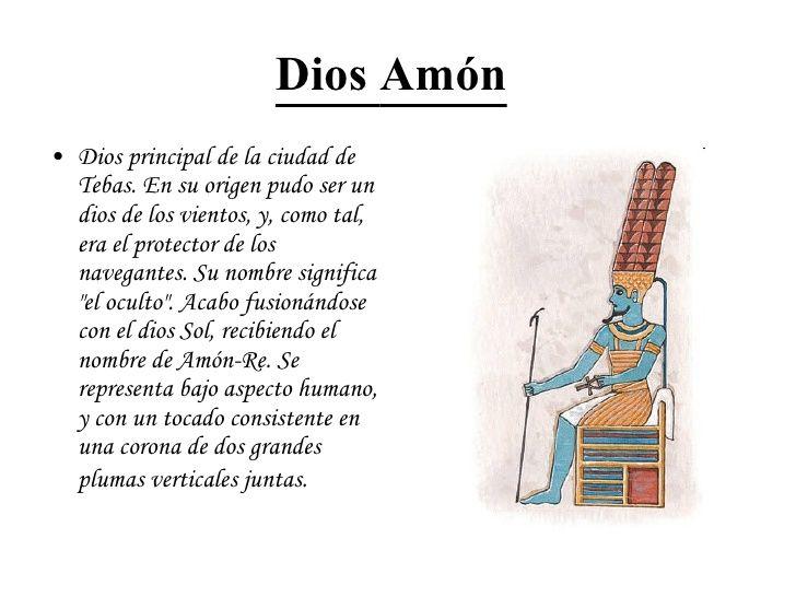 Resultado de imagen de amon dios egipcio