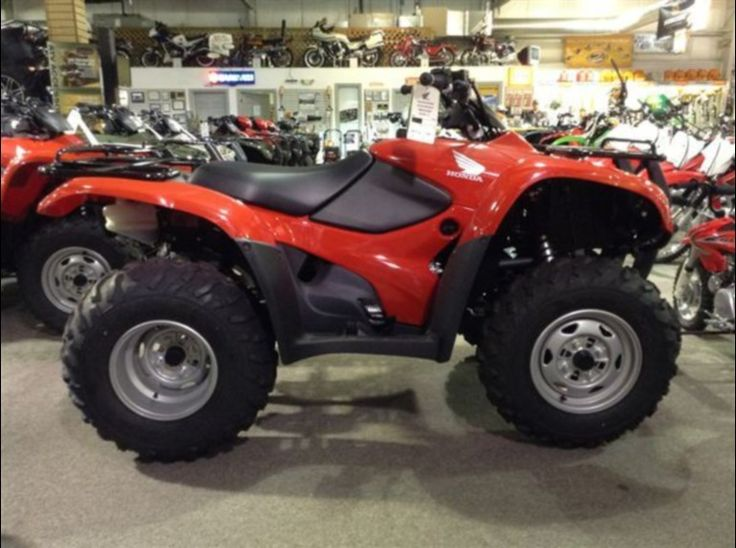 Cheap Used 2013 Honda Fourtrax rancher es trx420te Work