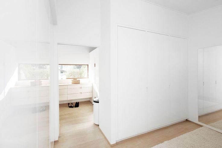 White closet