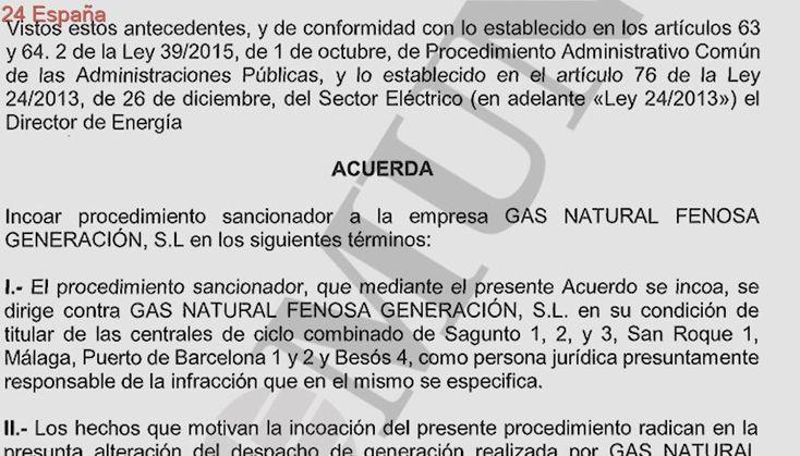 Endesa y Gas Natural se enfrentan a una sanción de seis millones