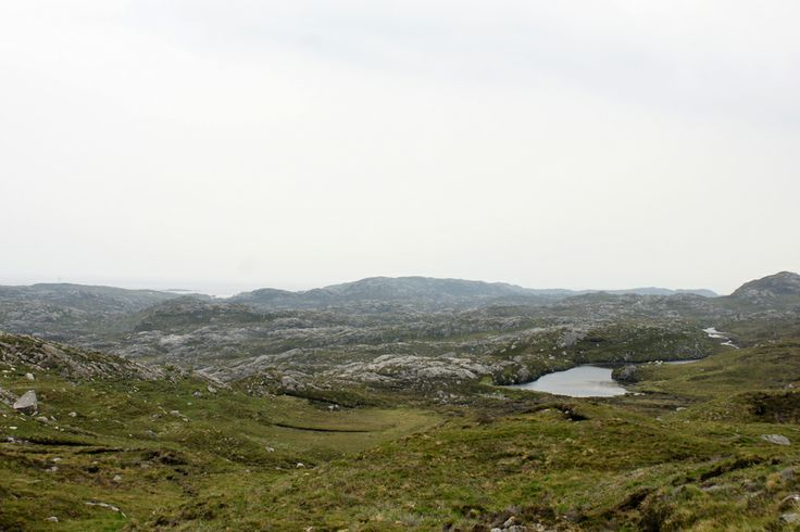 Schotland het eiland Harris