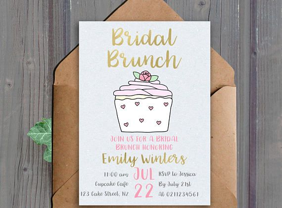 Printable bridal brunch invitation 5x7 inches.  This listing is for a DIGITAL DOWNLOAD of the above invitation. (No physical item will be shipped to you)  *Note the gold elements wont actually print shiny, they are just gold coloured  Turnaround time to receive your files is up to 24 hours  ★ HOW TO ORDER: ★  - Add this item to your cart -In the Notes to seller section include:  - The name of the bride to be - The date of the party - The time of the party - The location of the party - The…