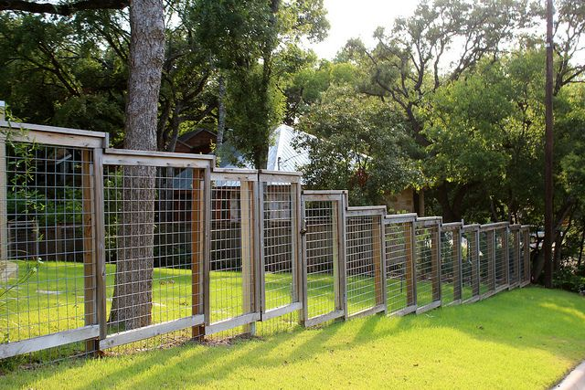 Sloping Fence More Yards And Gardens Ideas