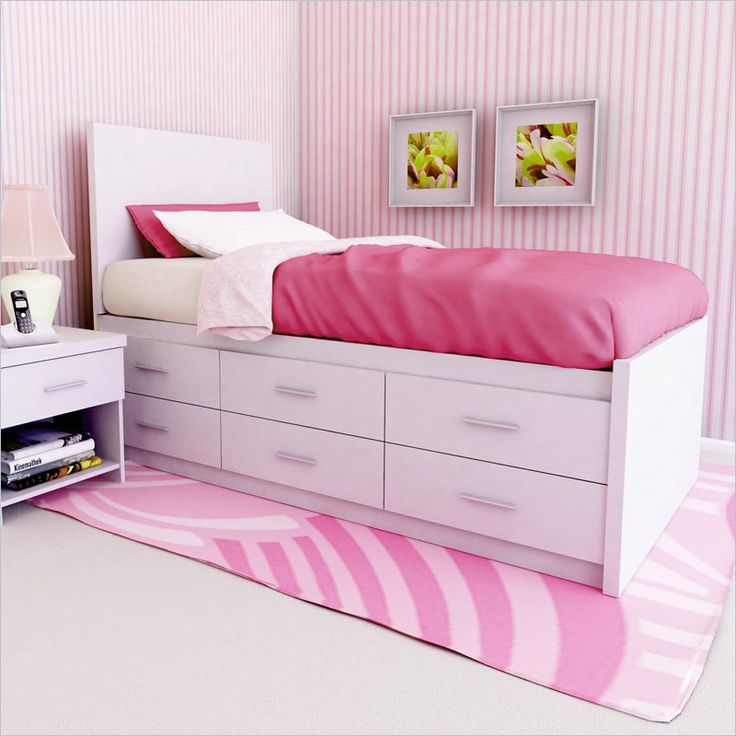 bed with collection twin and storage kids platform images frame