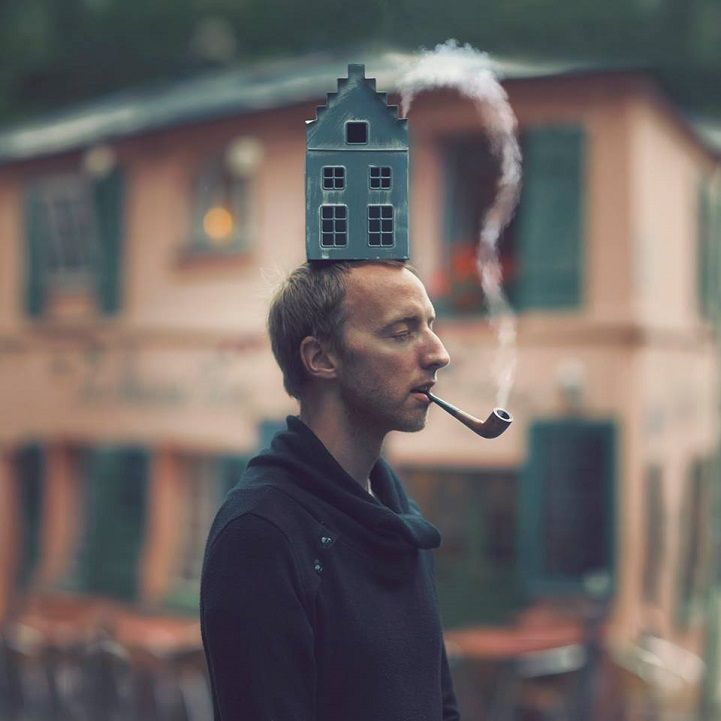 Imaginative Photographer Turns Mundane Reality into Wonderfully Surreal Adventures - My Modern Met