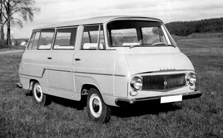 Škoda 1203 Minibus Prototype (997) '1961