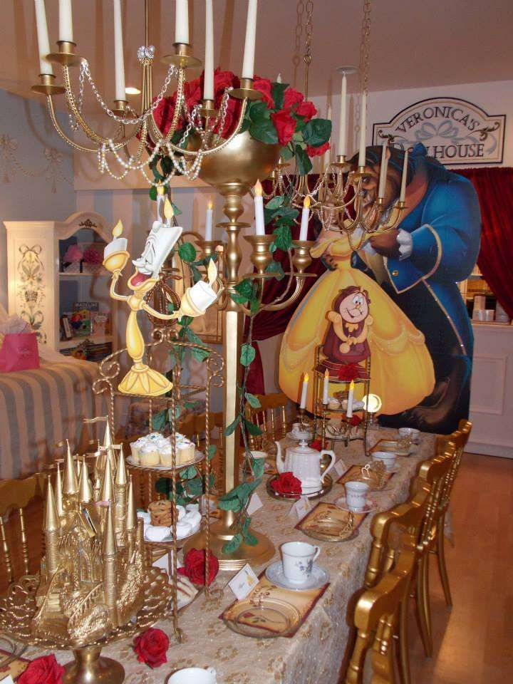 Beauty and the beast birthday party ideas photo 3 of 12